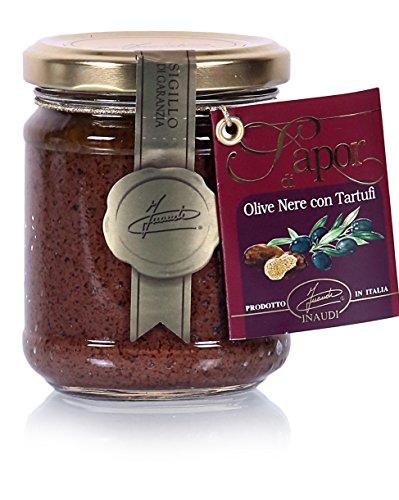 Paté de Aceitunas Negras y Trufas Negras 180 gr 1