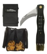 Sagaform Forest Mushroom, Fungi, Fungus Knife and Bag Set 2
