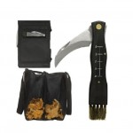 Sagaform Forest Mushroom, Fungi, Fungus Knife and Bag Set 5