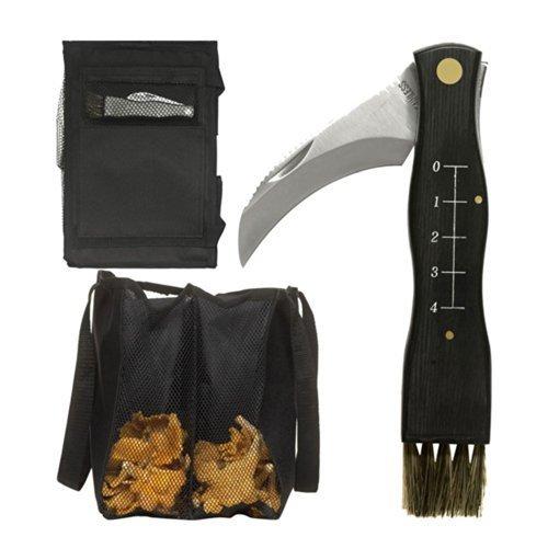 Sagaform Forest Mushroom, Fungi, Fungus Knife and Bag Set 1
